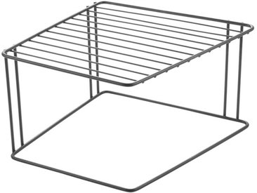 Ablagekorb Boxe Lava /Schwarz, Stahl