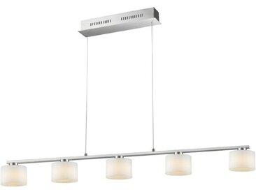 Trio LED-Pendelleuchte Alegro, Glas