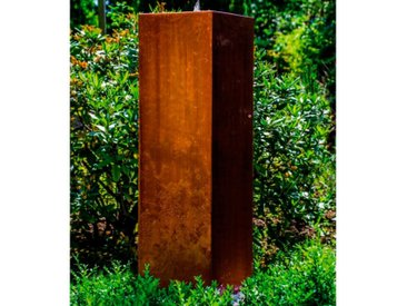 KÖHKO Gartenbrunnen Peru 100 /Rostfarbig, Stahl