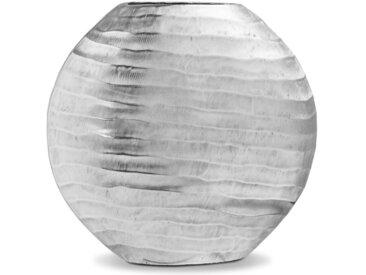 Vase Ostern - Diskus /Silber, 32 cm Aluminium