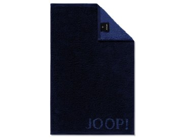 JOOP! Gästetuch Doubleface 30 x 50 cm /Navy, Baumwolle