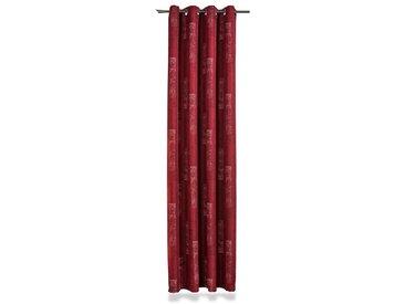 Ösenschal Cooky 137 x 245 cm /Rot, Polyester