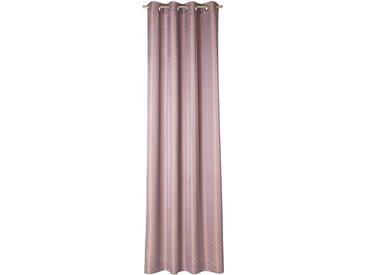 JOOP! Ösenschal Allover 140 x 250 cm /Rosa, Polyester
