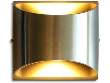 Eco-Light LED-Außenwandleuchte Dodd /Silber, Edelstahl
