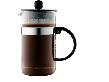 bodum Kaffeebereiter Bistro Noueveau 350 ml /Schwarz, S (Small)