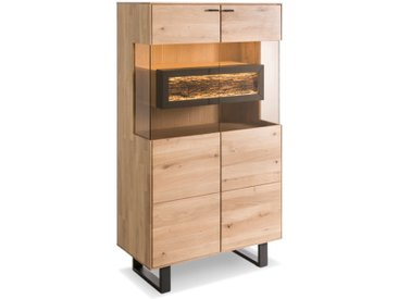 Barschrank Arona /Wildeiche, Holz
