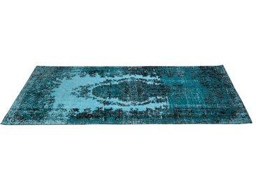 KARE DESIGN Teppich Kelim POP /Türkis, 170 x 240 cm Stoff