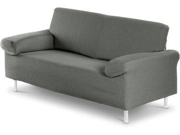 Sofahusse Tunez 2-Sitzer /Grau, Mischgewebe