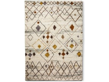 Berber Teppich Moroccan 200 x 290 cm /Beige, Wolle