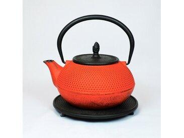 Teekanne Arare 1200 ml /Rot, Gußeisen