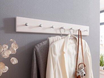 Garderobenleiste Minnesota /Weiß, Holz