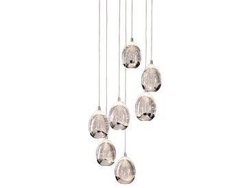 DesignLive LED-Pendelleuchte Tear /Chrom, Chrom, Alu, Nickel,