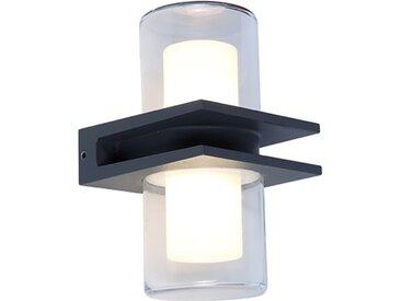 Eco-Light LED-Außenwandleuchte Mito /Anthrazit, Aluminium