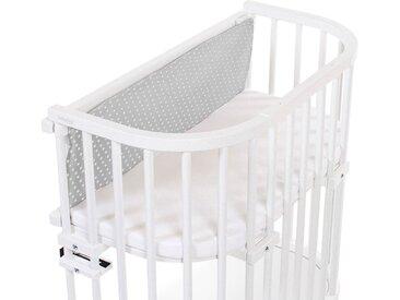 babybay Gitterschutz /Dunkelgrau / Weiß