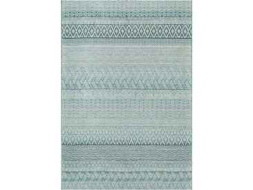 Outdoorteppich Brighton 160 x 230 cm /Blau, Polypropylen
