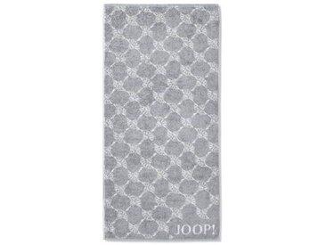 JOOP! Gästetuch Cornflower 30 x 50 cm /Silber, Baumwolle
