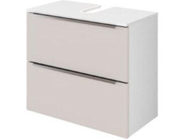 Held-Möbel Waschbeckenunterschrank Garda /Grau