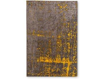 Vintage Teppich Scroom 140 x 200 cm /Gold / Schwarz, Mischgewebe