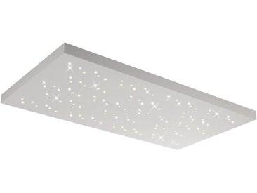 Trio LED-Deckenleuchte Titus /Weiß, 110 x 60 cm Metall