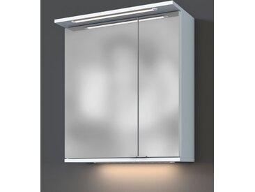 Held-Möbel Spiegelschrank 896.1.0101 Lynd /Weiß, 60 cm