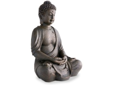 BOLTZE Deko-Buddha 40 cm /Braun, Kunststoff