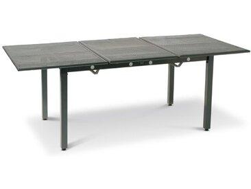 Gartentisch mit Auszug Toulouse 140/200 x 90 cm /Anthrazit, Stahl