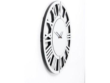KARE Wanduhr 51963 Specchio /Silber, Glas