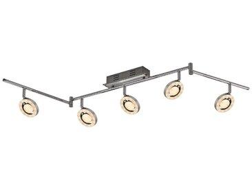 DesignLive LED-Strahler Abens /Alu gebürstet, Aluminium