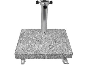 LIRO Sonnenschirmständer Balkon Granitständer 25kg /Granit,
