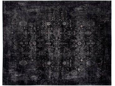 Vintage Teppich Magic 160 x 230 cm /Schwarz / Grau, Viskose