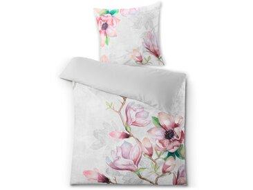 Kleine Wolke Bettwäsche Angelina 135 x 200 cm /Rose, Satin