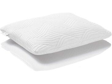 TEMPUR Nackenkissen Comfort Fest 80 x 40 cm /Weiß, Polyester