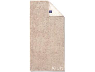 JOOP! Duschtuch Doubleface 80 x 150 cm /Sand, Baumwolle