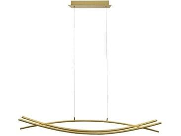 DesignLive LED-Pendelleuchte Grisu /Gold, Alu, Eisen, Stahl &