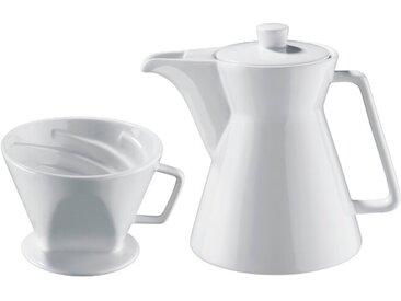 Cilio Kaffeekanne Ø 14 cm /Weiß, Porzellan