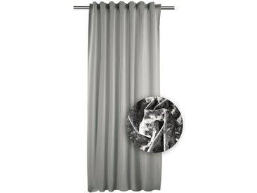 Apelt Fertiggardine Aurelia 134 x 245 cm /Silber, Polyester
