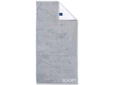 JOOP! Duschtuch Doubleface 80 x 150 cm /Silber, Baumwolle