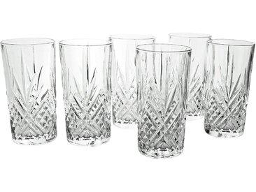 CreaTable Gläserset Longdrink - Eugene 6tlg. /Klar, Glas