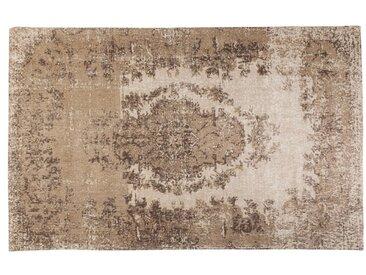 KARE DESIGN Teppich Kelim POP /Beige, 170 x 240 cm Stoff