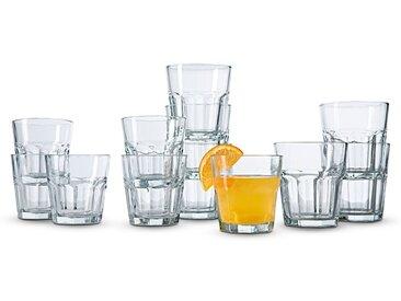 Gläserset Aras 12tlg. /Klar, Glas