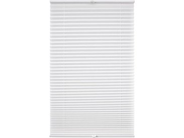 Liedeco Klemmfix-Plissee 45 x 150 cm /Weiß, Polyester