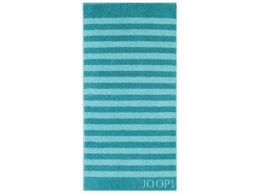 JOOP! Duschtuch Classic Stripes 80x150 cm /Türkis, 80 x 150
