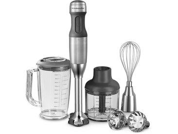 KitchenAid Stabmixer 5 Geschwindigkeitsstufen /Silber, Metall
