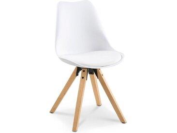 Stuhl Lilly /Weiß, Kunststoff