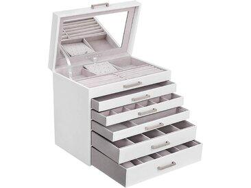 Nancys Jewelry Box - 6 Ebenen mit fünf Schubladen und Spiegel -
