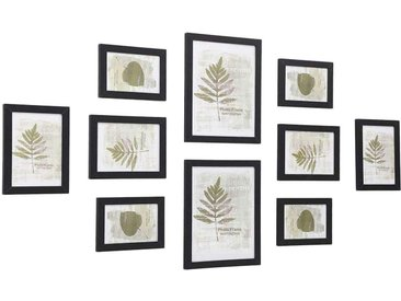 Nancys Fotorahmen Set mit 10 Fotorahmen - 2 x 20 x 25 Zoll, 4 x