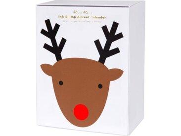 Meri Meri Stempel Adventskalender Weihnachten 18x14 cm