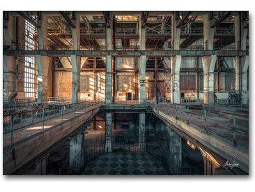 "Kollektion Wiedemann Bild ""THE DARK IN NEED OF LIGH, Mehrfarbig, Materialmix"