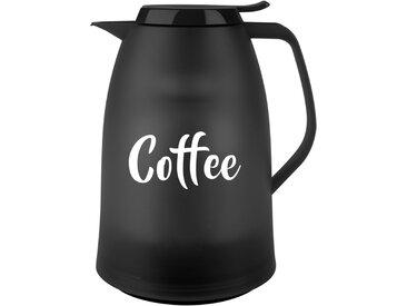 Emsa Isolierkanne Mambo Coffee 1l MAMBO, Schwarz, Kunststoff
