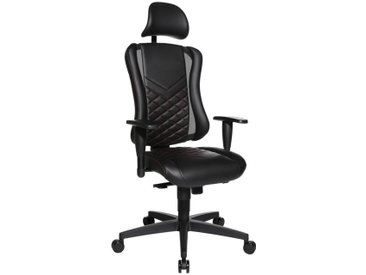 Dieter Knoll Racing Bürostuhl GAMING CHAIR, Schwarz, Stoff
